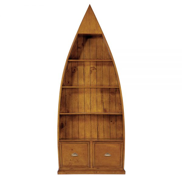 4 Shelf Wooden Dinghy Bookcase