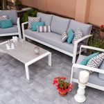 Garden 3 Seater Sofa Set | Available in Graphite Grey only