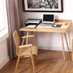 Storage / Printer Desk - Oak