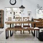 Kennedy Extendable Dining Table with Dining Bench and 2 Chairs