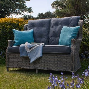 Reclining 2 Seater Garden Sofa