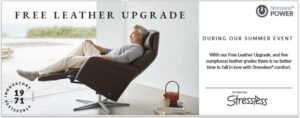free leather upgrade, stressless