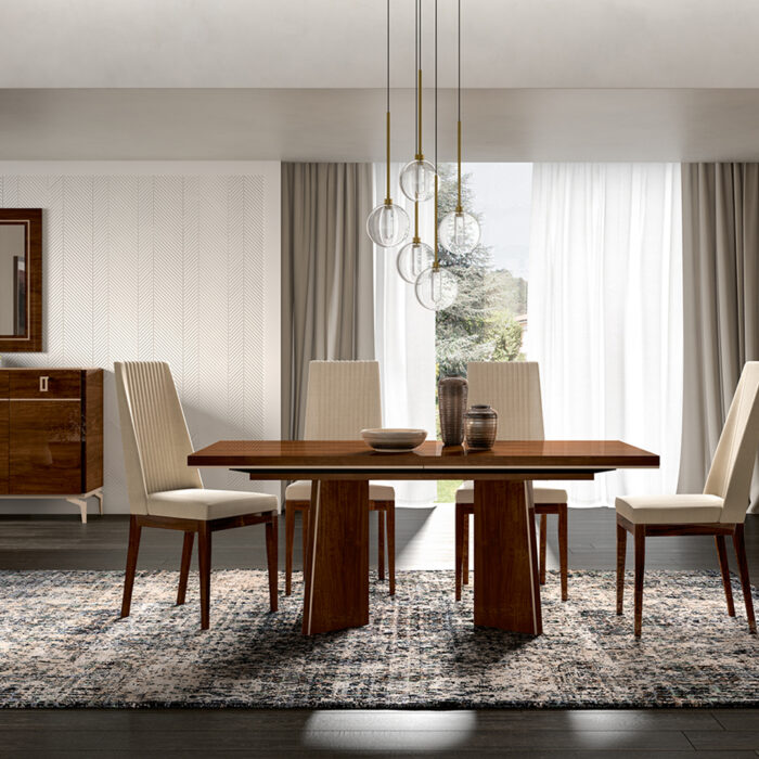 eva dining table and chairs